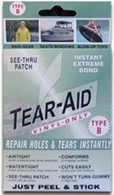 how to fix vinyl tear